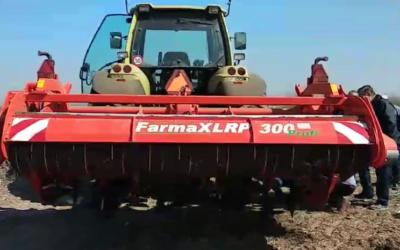 Demonstarcija novo isporučenog FarmaX rotacionog pluga