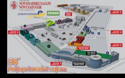 Dođite i posetite nas na 86-tom poljoprivrednom sajmu
